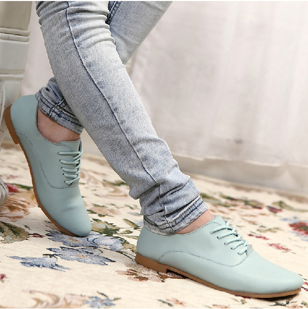 Genuine leather Oxford shoes for women flats new 2017 Fashion women shoes moccasins sapatos femininos sapatilhas zapatos mujer<br><br>Aliexpress
