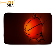 HUGSIDEA Brand Floor Mat Custom Basketball Carpet Home Decoration Door Bath Mats Basketball Rugs and Carpets for Kids Bedroom
