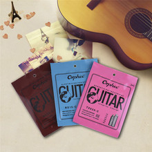 Colourful Guitar strings Suitable For Folk/Electric/Acoustic/Classical Guitar Strings Color String Series Support Wholesale