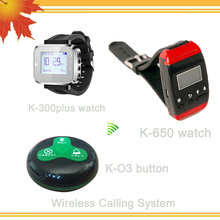 Waiter Pager System with CALL BILL CANCEL waterproof table service button(China)