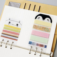 A5/A6 PVC Washi Tape Sheet Planner Subpackage Plate for Spiral Notebook Organizer Accessories inner page binder(China)