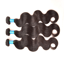 Aliexpress KBL Hair Products Brazilian Virgin Hair 3 Bundles Body Wave Black Color Can Be Dyed Brazilian Virgin Hair Body Wave