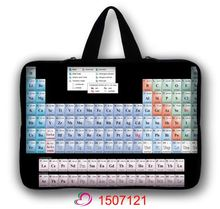 Periodic table Laptop Bag 7 8 10 12 13 15 15.6 17 14 Computer Bag 15.6 PC Sleeve Bag Case Notebook Tablets  Pouch Case + Handle