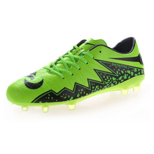 2016 Football Boots Men Cheap Footy Boots Kids Soccer Cleats Boy Soccer Boots For Sale Green/Blue Training Football