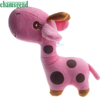 CHAMSGEND Best-seller Giraffe Dear Soft Plush Toy Animal Dolls Baby Kid Birthday Party Gift S20