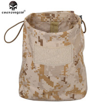 Emersongear Military Airsoft Hunting Folding Magazine Recycling Bags Emerson Sundries Dump Pouch Nylon EM9041 Multicam Coyote