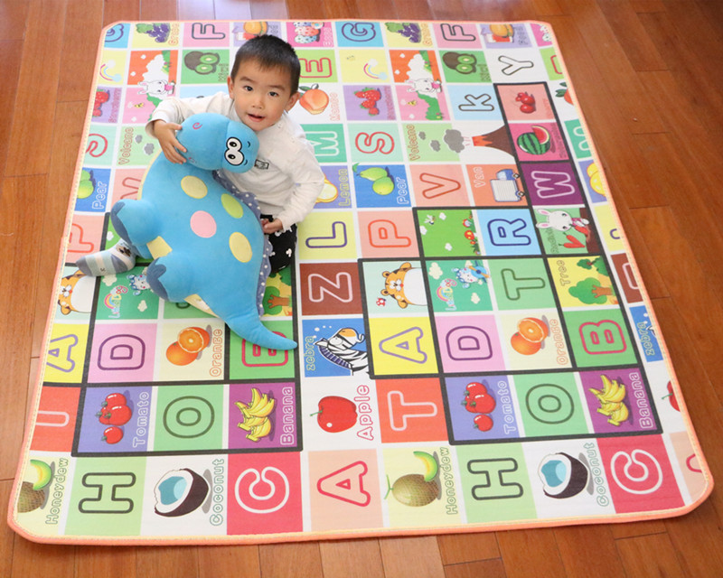 10 mm Thick Double Sides Children Play Mat Waterproof Kids Beach Picnic Mat Soft Eva Foam Carpet Rug Baby Crawling Mat Baby Toy 31