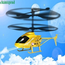 CHAMSGEND Best seller drop SHIP 2.5CH Mini RC helicopter Radio Remote Control Aircraft Micro for Kids Toys Gift S30(China)