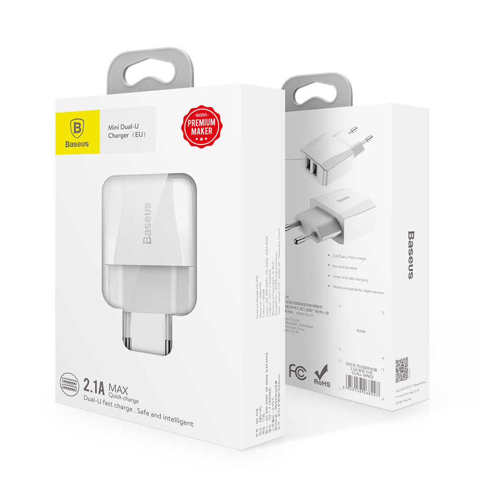 Retail Box Europe iPhone Charger adapter on KissiPhone