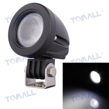 "2"" inch 10W 800lm Round Car LED Work Light Flood Beam for Jeep SUV 4WD Off-road DC 12V 24V"