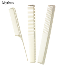 Japan Barber Hairdressing Comb kit In 3 Pcs/lot Antiheat Resin Measurement Haircut Comb Hairdresser Tail Comb For Hairstyling