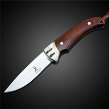 PEGASI Survival Knife Browning Fixed Blade Knife 440 Stainless Steel Utility Self-Defense Camping Knives