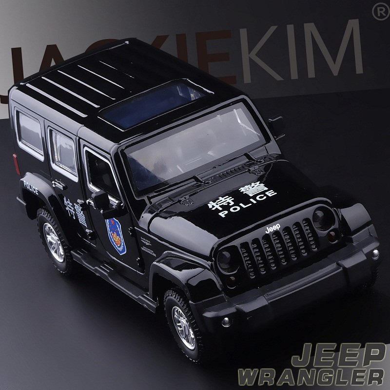 High Simulation Exquisite Collection Baby Toys CaiPo Car Styling Jeep Wrangler 1:32 Alloy SUV Car Model Best Gifts(China)