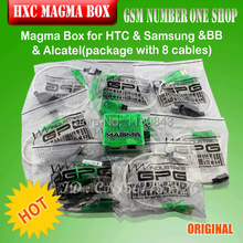 100% original Magma Box for HTC &Samsung& BlackBerry and Alcatel cell phones with 8 cables,Free hk post fast shipping