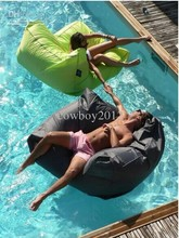 Swimming Beanbag Sofa For Pool Bench  Solid Coulours Outdoor Sleeping Relaxing Bag Necessity For Enjoying Summer
