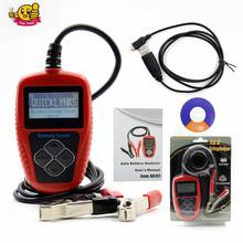 Good quality QUICKLYNKS BA101 Automotive 12V Vehicle Battery Tester Scanner Battery Analyzer (100~2000 CCA) JIS, EN, DIN, SAE(China)
