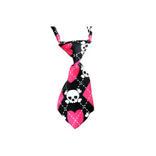 1pcs Halloween Tie Skull Style mix colour  Dog pet Tie Wedding Accessories Cats Dogs Necktie Collar Holiday Decoration Grooming