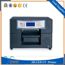Multifunctional digital A4 size Flatbed Printer For card,phone case,glass.. Printing