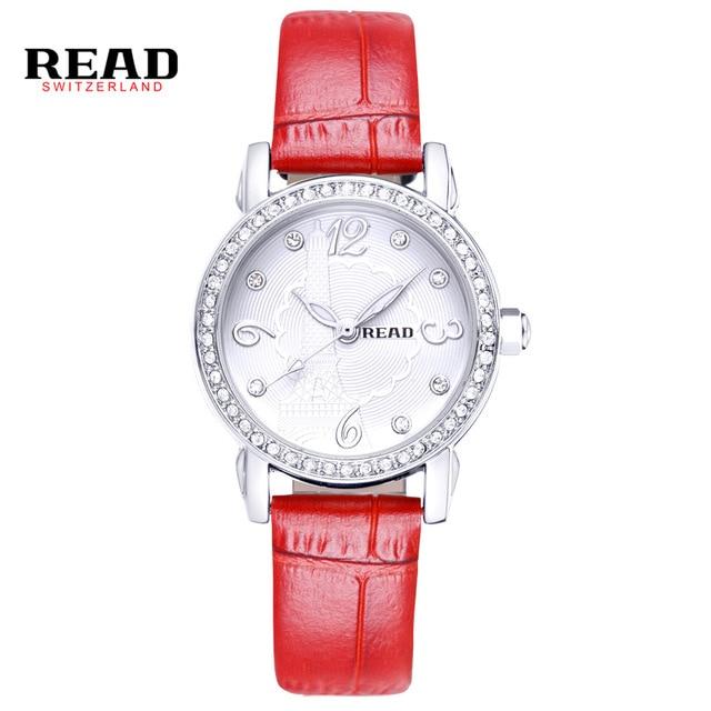 READ Women watch luxury brand luminous waterproof fashion diamond ultra-thin womens quartz genuine leather watch women 21430<br><br>Aliexpress