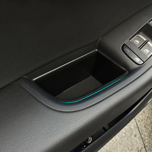 Automobiles suit for Audi Q5 2009-2016  door handle storage holder container tray box, car organizer accessories, car styling