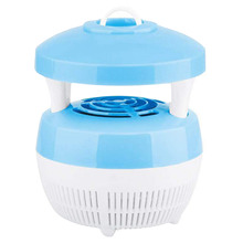 USB Electronic LED Mosquito Insect Bug Pest Fly Inhaler Trap Repellent Killer Zapper Light Lamp for Home Office Camping(China)