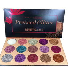 15 Colors Glitters Eyeshdow Pallete Glitter Diamond Rainbow Pressed Powder Eye Shadow Palette Make Up Shimmer Cosmetic #253491