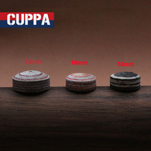 New Cuppa 5 Pcs/lot Buffalo Skin Leather Snooker Cue Tip 10mm/12mm Billiards Accessories China(China)
