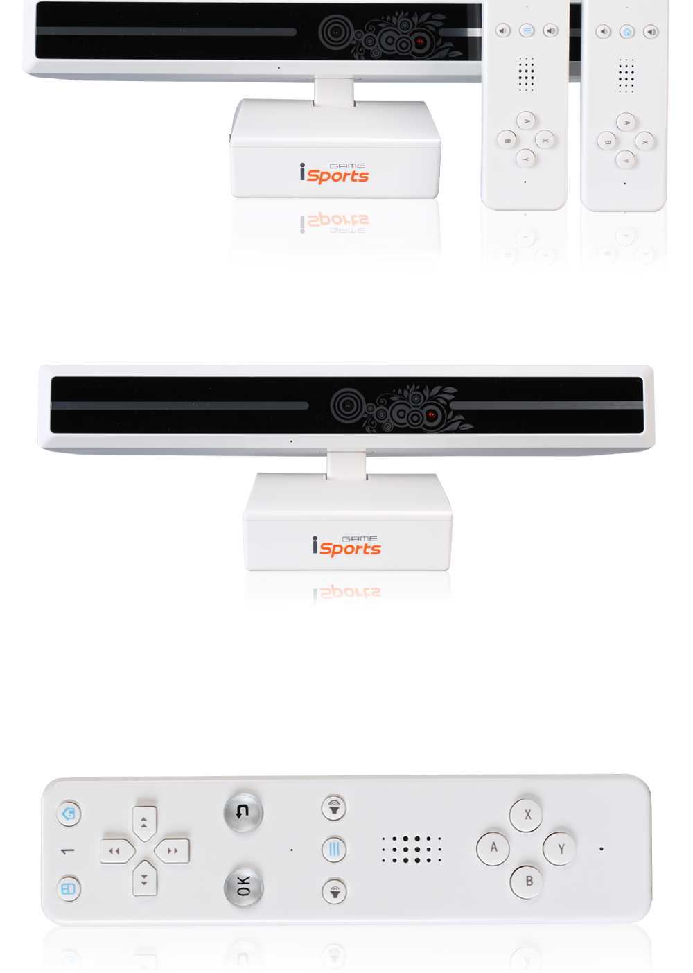 POWKIDDY Wireless HD TV Game Consoles For Double Parent-Child Family Interactive Video Game Player Machine somatosensory game