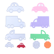 Vehicle Car Family metal die cutting dies scrapbooking embossing folder suit for sizzix fustella big shot cutting machine