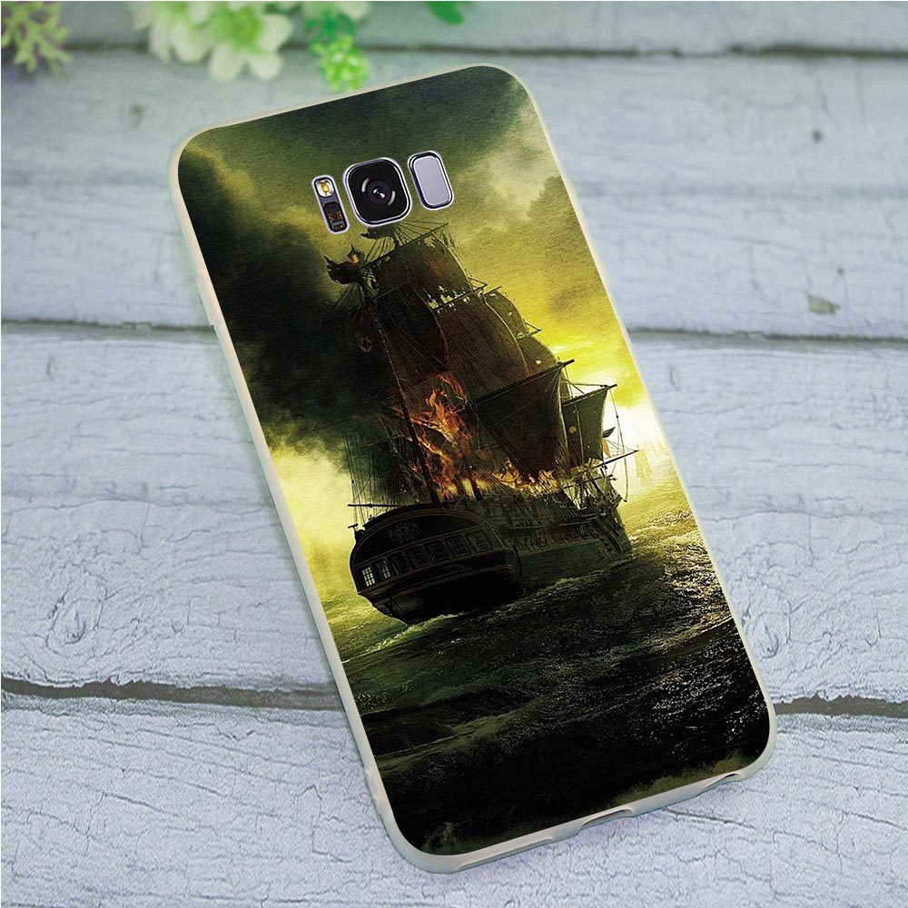 Чехол для телефона Skin Pirates of the Caribbean чехол Samsung Note 9 Galaxy S10e M10 M20 M30 S7 Edge S6 S8 S9 Plus S10 10