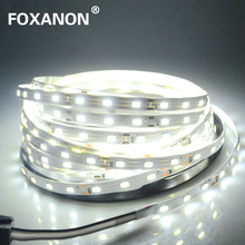 Foxanon LED Strip light 5630 DC12V 5M 300led Flexible 5730 Bar Light Super Brightness Non-waterproof Indoor Home Decoration(China)