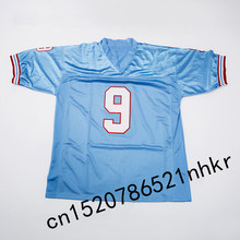 Retro star #9 Steve McNair Embroidered Name&Number Throwback Football Jersey(China)