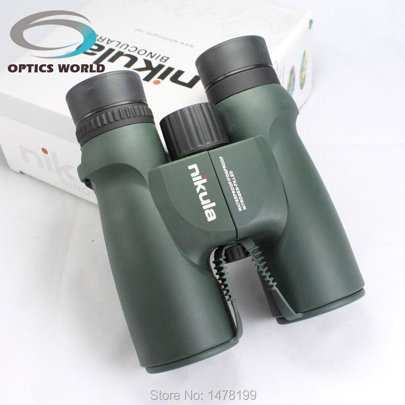 Binoculars Nikula10X42 105M\1000M night vision Waterproof Nitrogen-Filled LLL Telescope Central Zoom Portable Bak4 Green color<br><br>Aliexpress