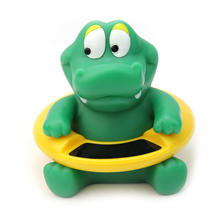 Hot Cute Crocodile Dream Baby Infant Bath Tub Thermometer Water Temperature Tester Toy