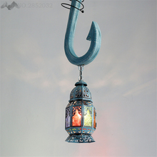 LFH New Creative Modern Bohemian Pendant Lights Fish Hook Lamps Decorative Living Room Dining Restaurant Bedroom Cafe Bar Lights(China)