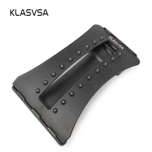 KLASVSA 18 Magnets Magic Stretching Back Massager Lumbar Support Back Stretcher Waist Relax Fitness Equipment Spine Chiropractic(China)