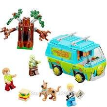 Бела Скуби Ду тайна машина автобус Building Block DIY Блоки Игрушки 10430 Совместимость с P029 подарки на день рождения(China)