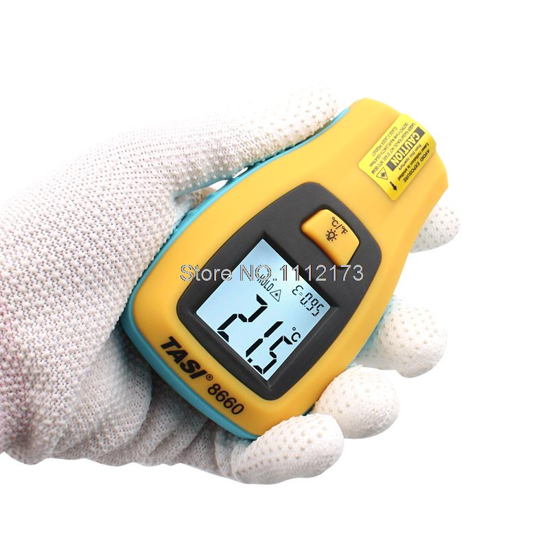 Digital Infrared Thermometer Range -50 ~ 330 Degree C Temperature Unit Selection Industrial Thermometer meter TASI-8660<br><br>Aliexpress