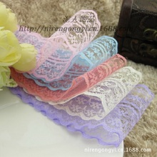 New! Free shipping of beautiful lace ribbon, 4.5 cm wide, DIY Clothing / Accessories / floral accessories, etc.(China)