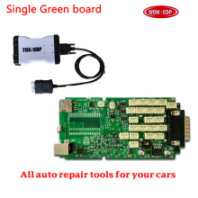 DHL FREE 5pcs/lot [WOW CDP] newest single green board 2015.R3 with keygen 4colour can choose Bluetooth car auto diagnostic too(China)