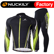 Nuckily summer mens best selling outdoor sports long sleeve cycling jersey set    MC009MD009