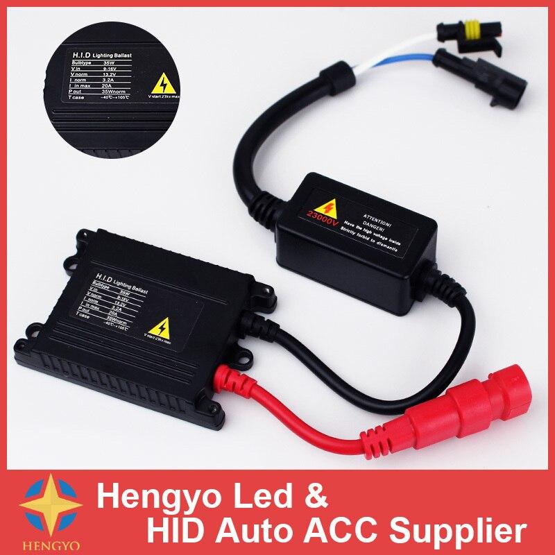 Free Shipping High quality 1 pcs AC Slim HID Ballast 12v 35w Ballast for H1 H3 H7 H4 9005 9006 H4-2 HID Xenon Conversion Kit<br><br>Aliexpress