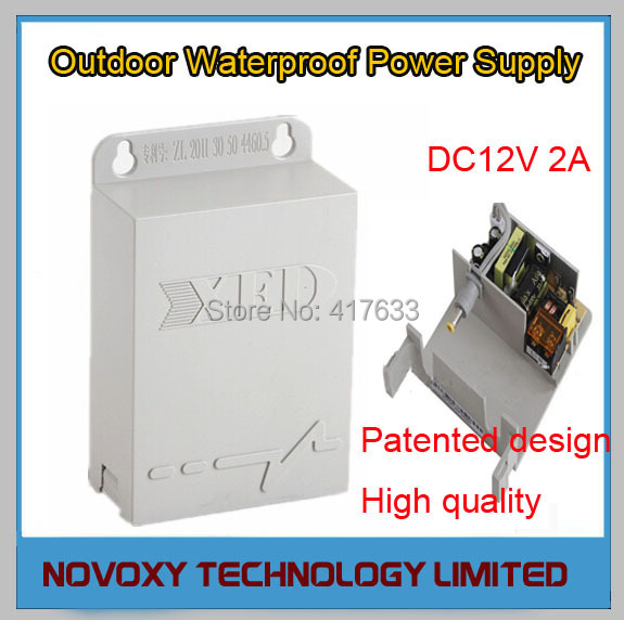 AC90V-AC264V Input 12VDC 2A Output Waterproof Adapter Outdoor Wall Mount Hanging Power Supply for CCTV Security Free Shipping<br><br>Aliexpress