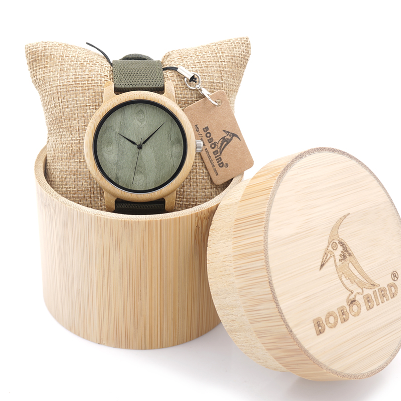 2017 BOBO BIRD Bamboo Watches for Men and Women Luxury Wristwatches Japan Movement 2035 Quartz Watch relogio feminino C-D12<br><br>Aliexpress