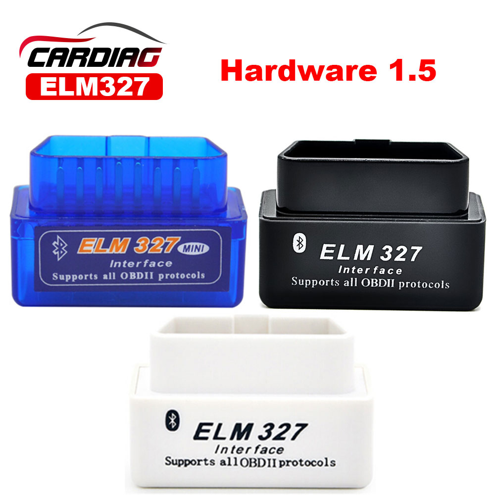 V1.5 Hardware Super Mini ELM327 Bluetooth OBD2 / OBDII for Android Torque /PC Car Code Scanner(China (Mainland))