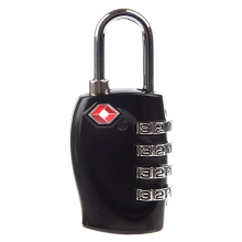 (Top sell)Black 4 Digit TSA Combination lock for Suitcases Luggage(China)
