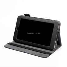 High quality Faux (PU) Leather stand book-style cover case fo HP slate 7 tablet(China)
