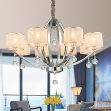 High Quality Metal Paint Modern Chandelier Living Room Bedroom Chandelier Lighting Contemporary Chandelier
