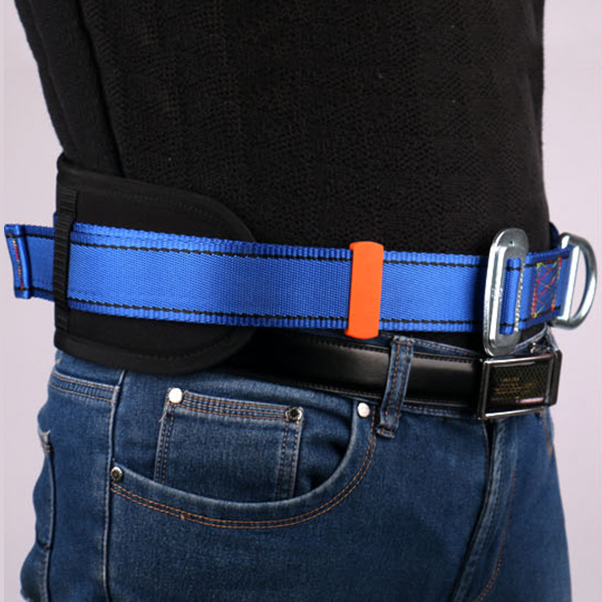 Sports Harness Rock Climbing D-Ring Gear Safety Belt Equipment Survival Rock Climbing Fall Waist Belt Harness Rope Accessories