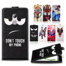 HomTom HT37 Factory Price Luxury Cool Printed Cartoon 100% Special PU Leather Flip case cover,Gift - Shenzhen Super-case Technology Co., LTD store